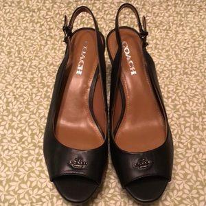New Coach Ferry Women wedge sandals